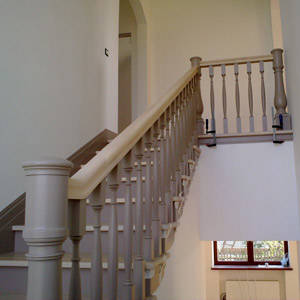 Exclusive staircase in Barvikha