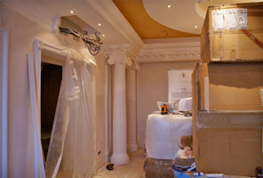 VIP drawing room repair