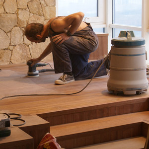 Polishing of floor surfaces