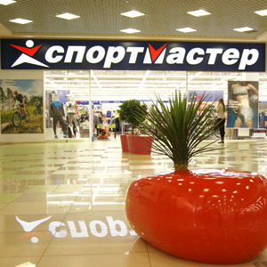 Sports Master of Shopping and Recreation Centre Collage shop 2nd floor Penza 2012