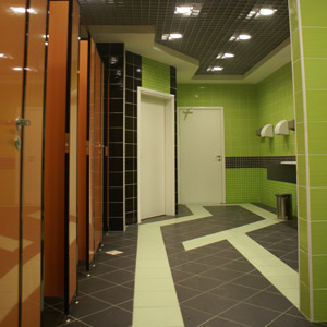 Shopping and recreation center Bathroom Collage Kostroma 2007