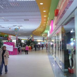 Shopping and recreation center gallery Collage 1st floor Kostroma 2007